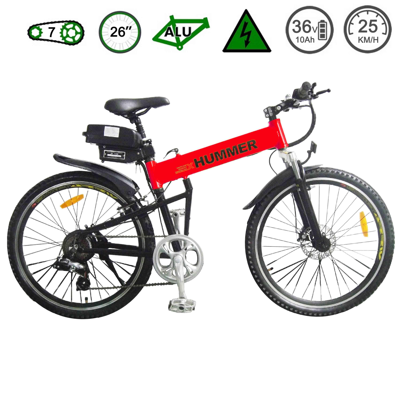 [Hot Item] Hummer Mountain Electric Folding Bike (TDE12Z)   hummer folding bikes