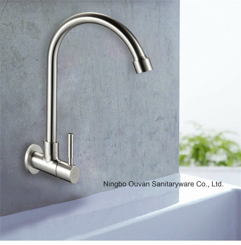 China Stainless Steel Single Lever Kitchen Faucet, High Qualitay ...