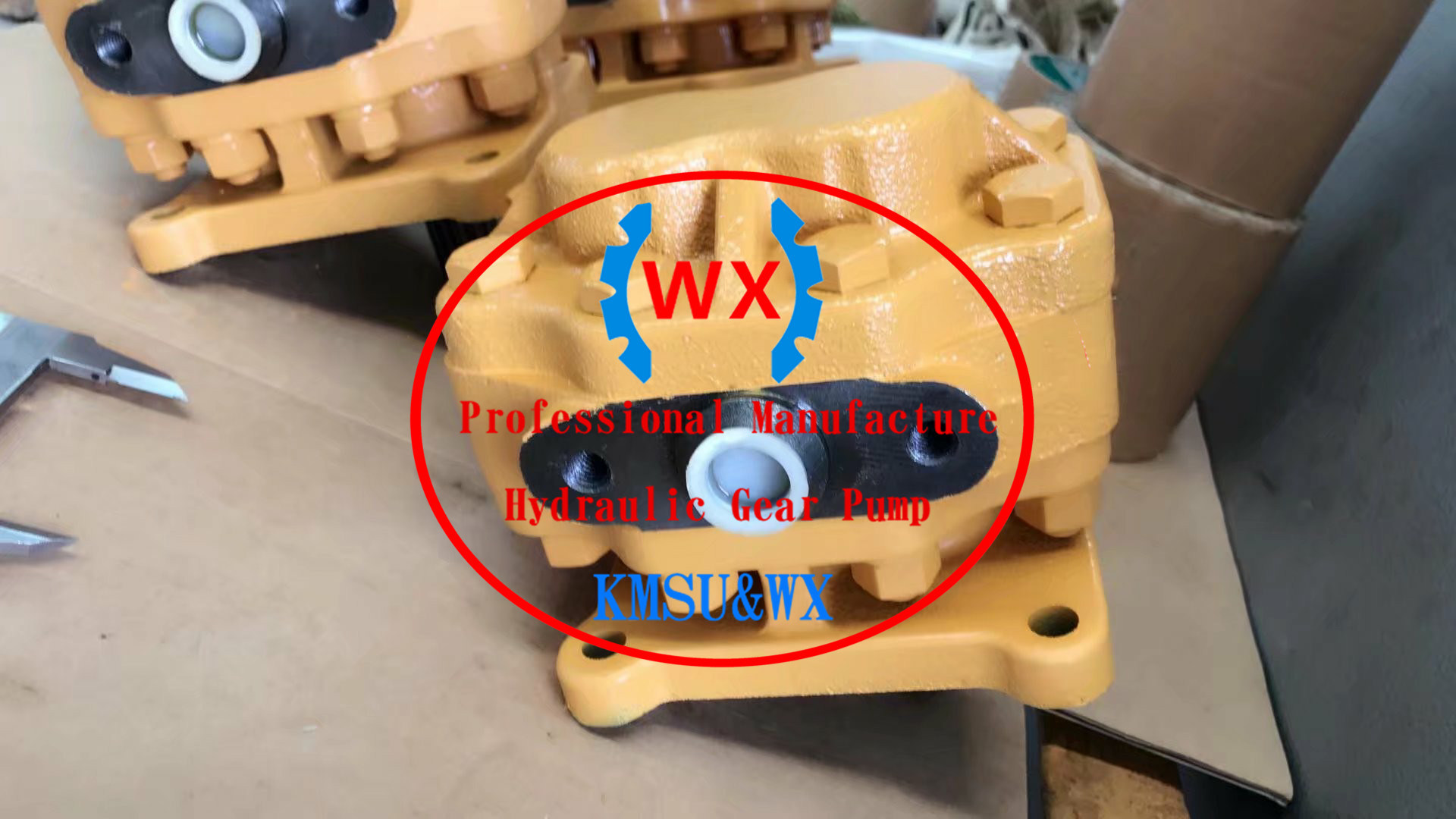 [Hot Item] Factory~Parts Number: 07441-67503 for Bulldozer Machine Model:  D65 HD460 Steering Pump for Komatsu Work Pumps Dump Trucks Gear Pump