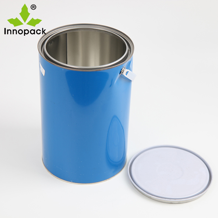 China Oil Based Paint Usage Empty 6 Liter Metal Tin Can