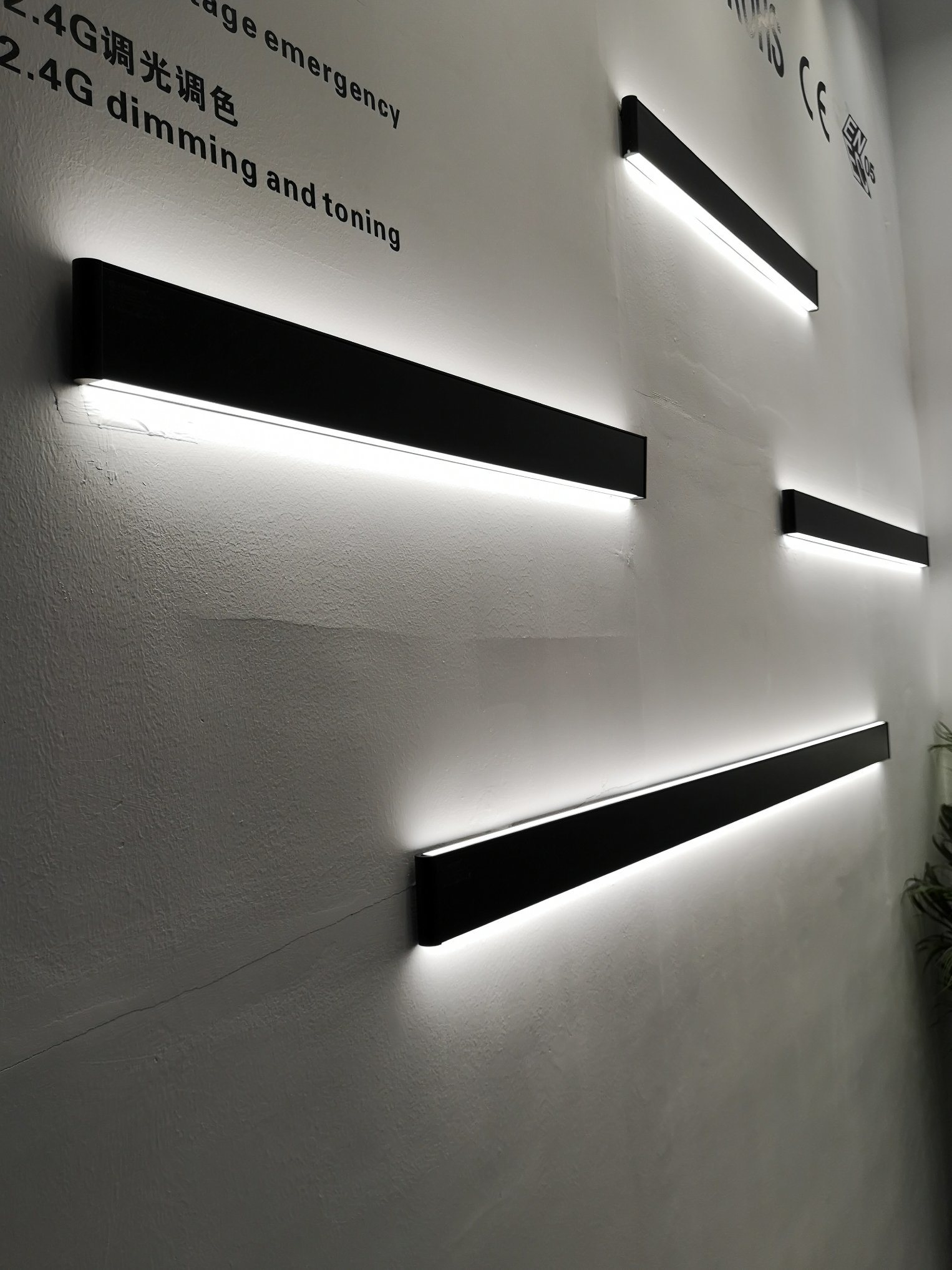 Led Ceiling Linear Light Wall Mounted