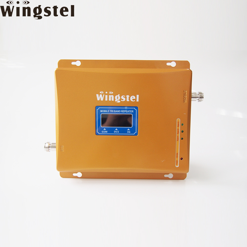 China 2018 Most Popular Tri Band Repeater Mobile Signal Repeater for