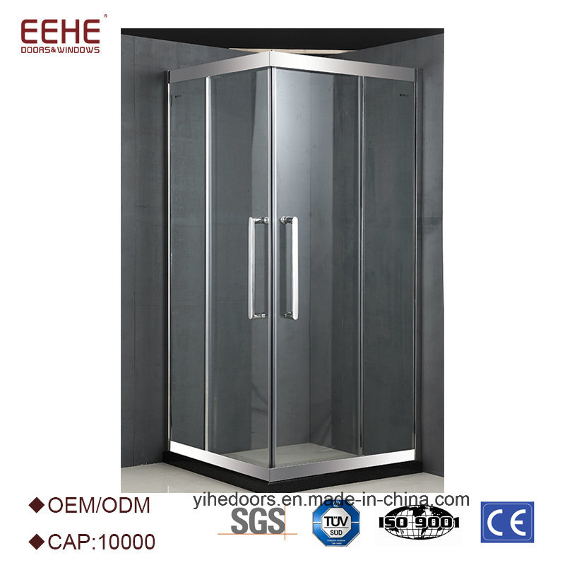 China 2 Sided Frameless Tempered Glass Shower Cubicles Enclosure Sri ...
