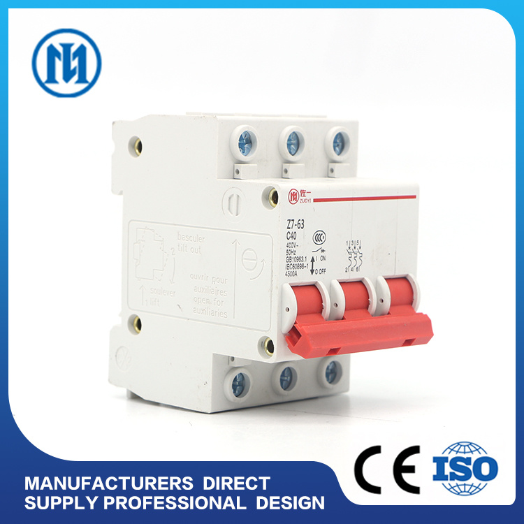 China Manufacturer Mgl-63 25A-30mA Leakage RCD, Residual Current ...