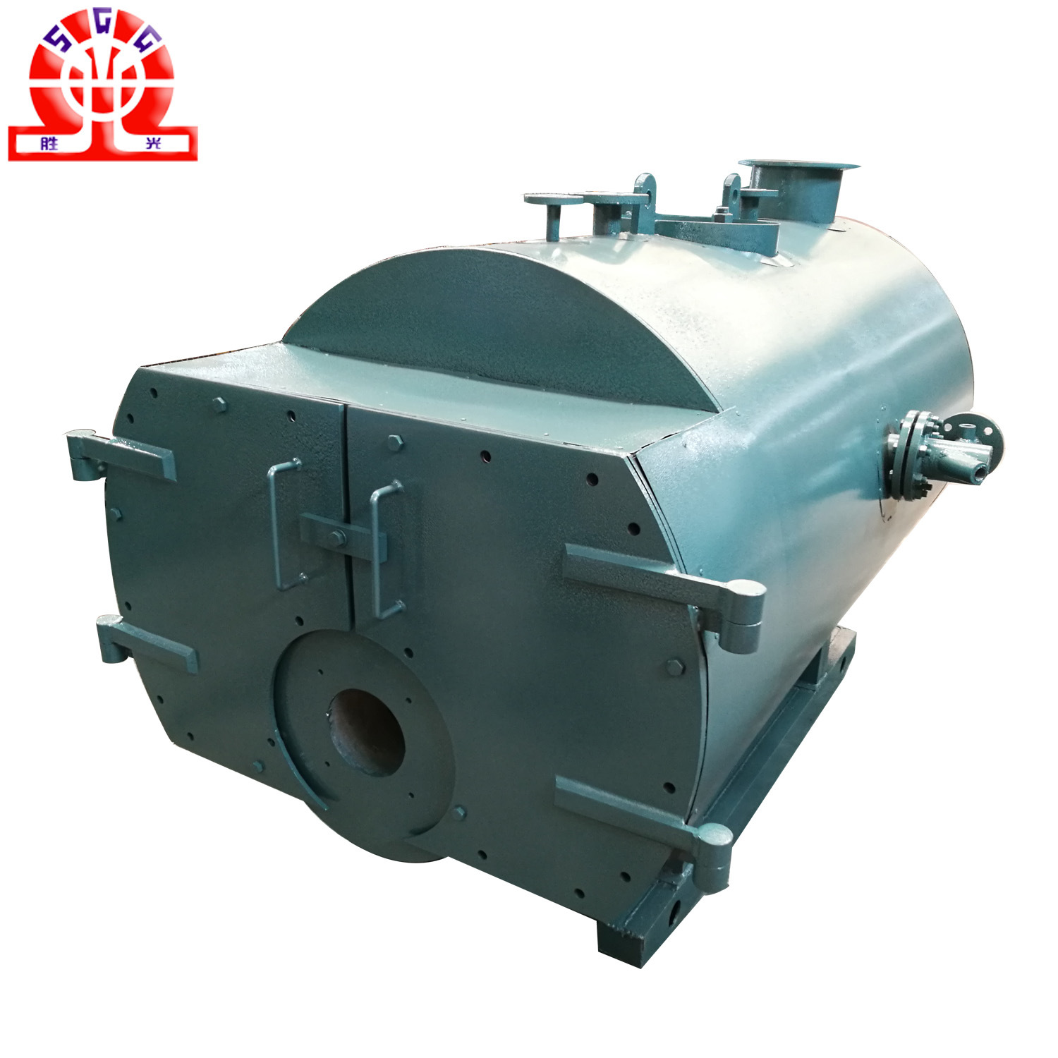 China High Efficiency Wet Back Diesel Oil Fired Steam Boiler - China ...