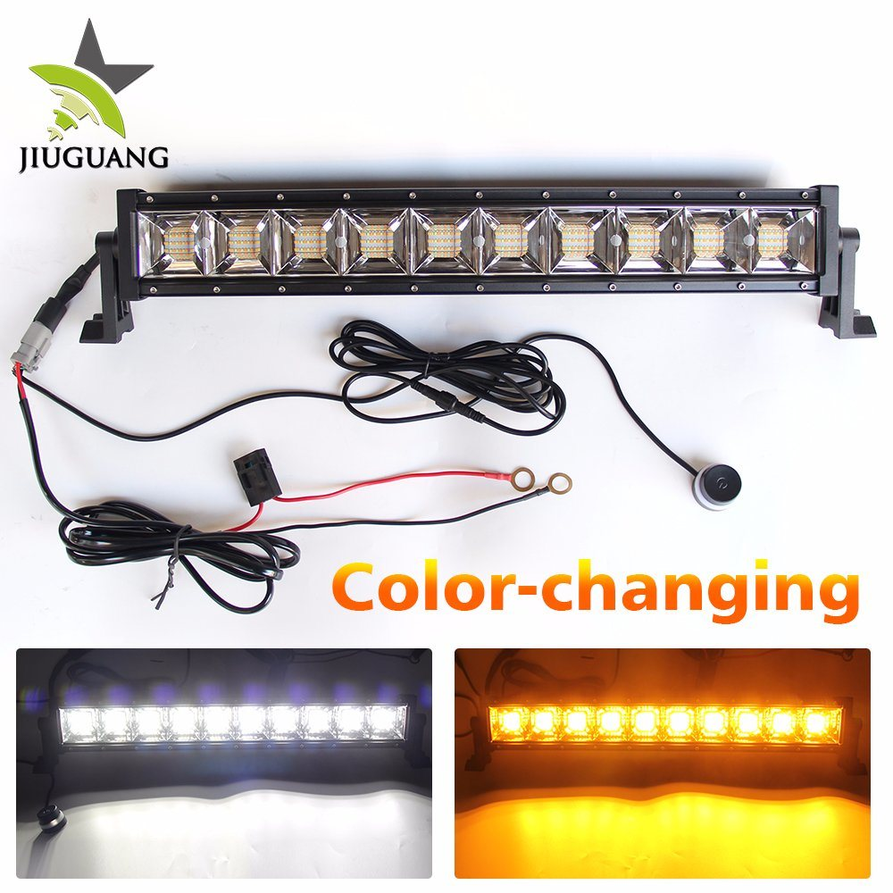 China 2018 New 4x4 Atv Truck Led Bar Lights 12 24 Volt Off Road 22 Light Wire Diagram Inch Color Changing Car Offroad Wholesale Strobe For Jeep