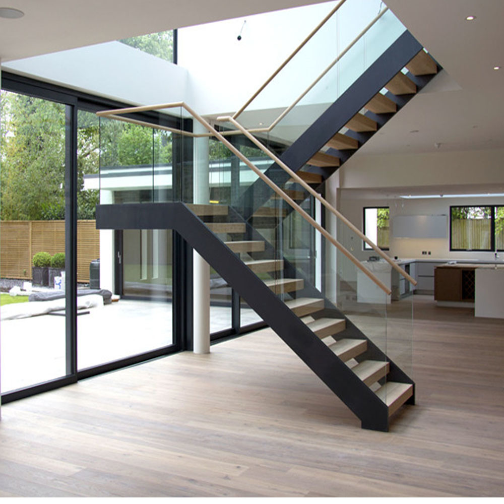 Genial China U Shape Staircase With Wooden Tread For Indoor Use   China U Shape  Staircase, Straight Staircase