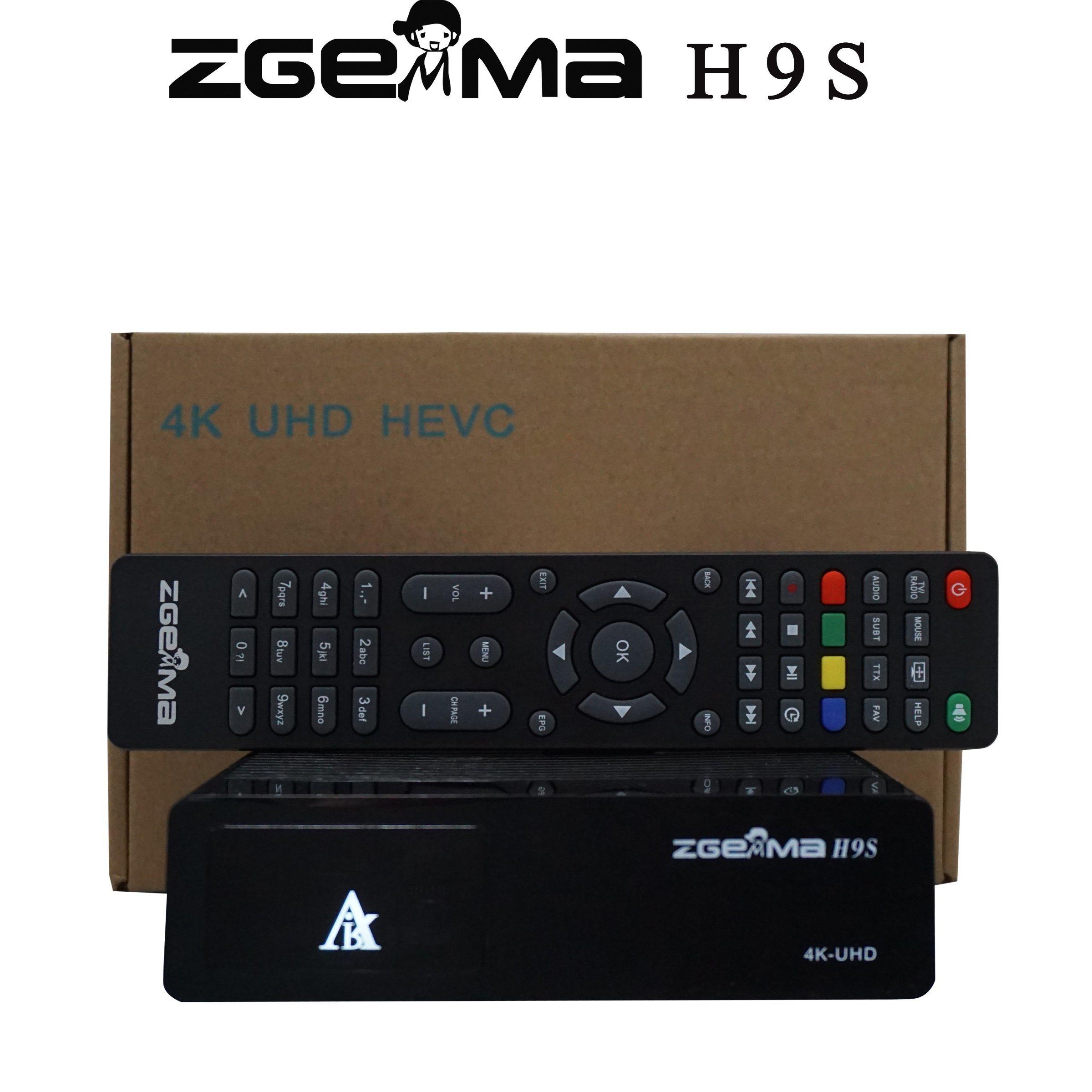 [Hot Item] Zgemma H9s with DVB-S2X 4K UHD Satellite Receiver IPTV Stalker