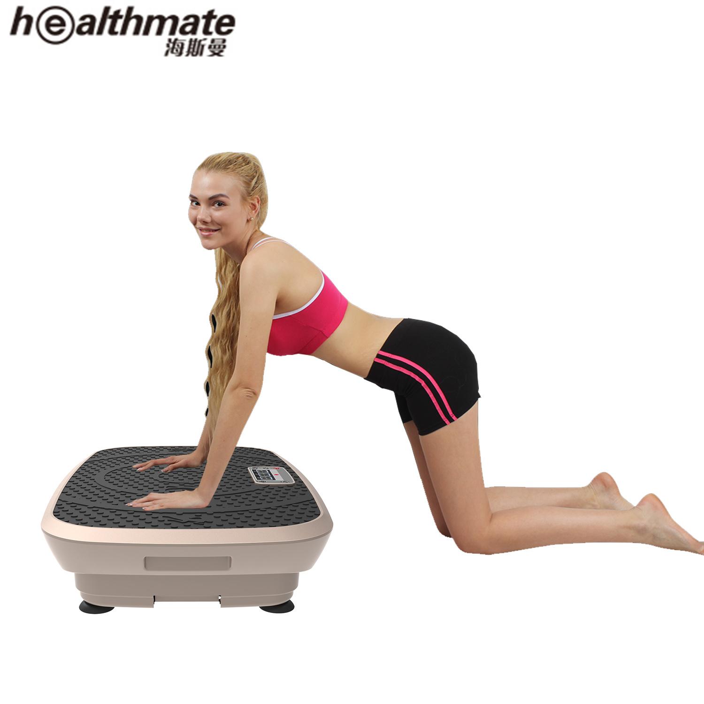 1711a509249 Fitness Equipment Gym Accessories Muscle Vibration Machine 3D Ultrathin  Slimming Vibration Platform Crazy Fitness Massage