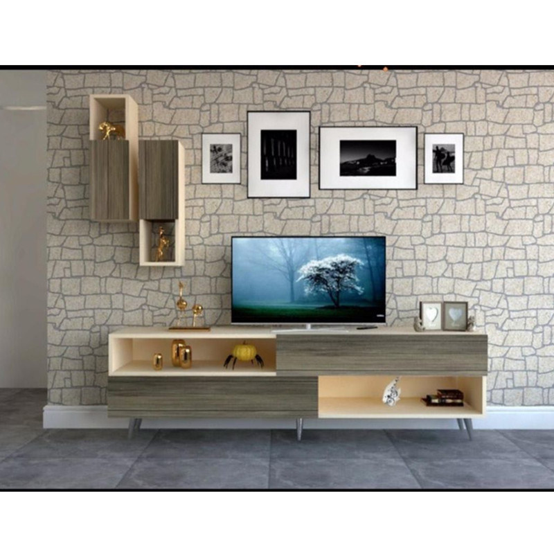 China Home Furniture Modern Design Wood Tv Stand Cabinet China Stand Cabinet