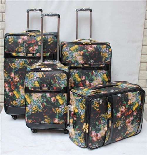 PU Material Trolley Case Set of 4 Ad09#