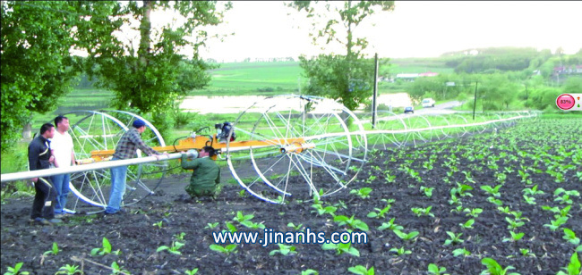 Rollaway Sprinkler for Short Crops Irrigation