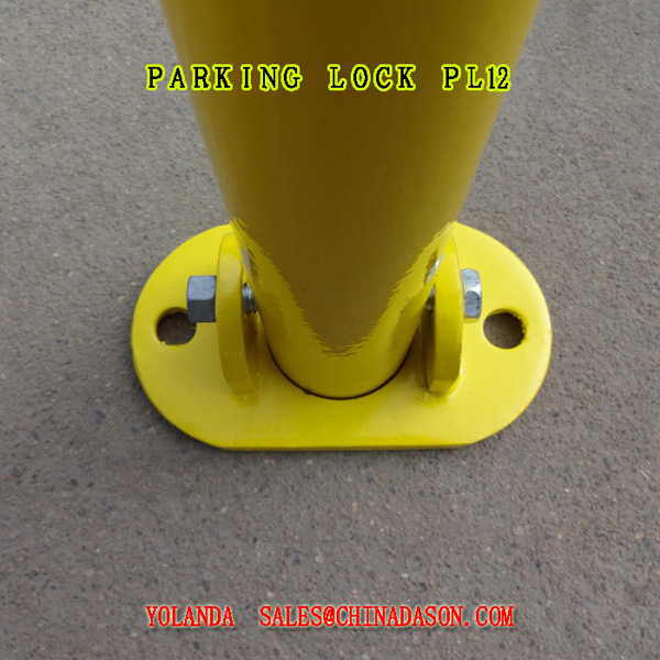 Steel Car Parking Lock Pl12