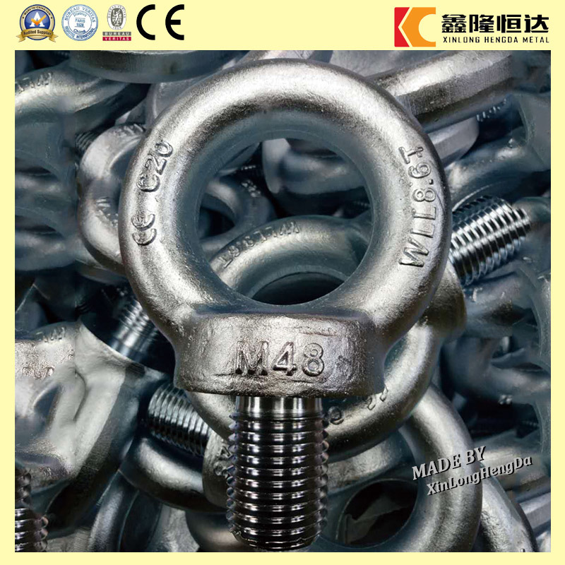 M24 C15/C15e Carbon Steel Forged Galvanized DIN580 Lifting Eye Bolt pictures & photos