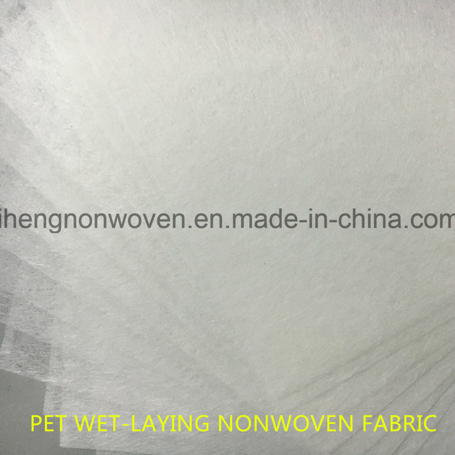 Coarse Filter Media Pet Wet-Laying Nonwoven Fabric