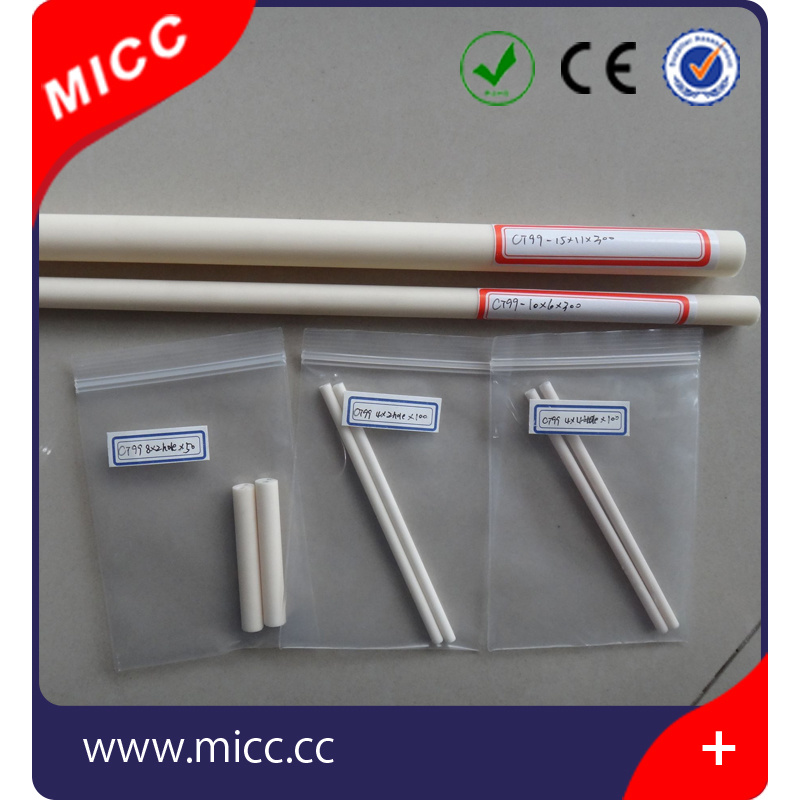 99.7% 6*4*317mm Ceramic Thermocouple Protection Tube