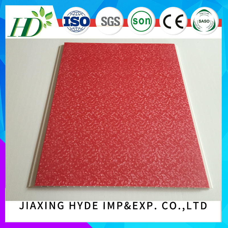 Decoration Materital Plastic Tiles 250*8.5mm PVC Ceiling Panel Wall Panel (RN-03) pictures & photos