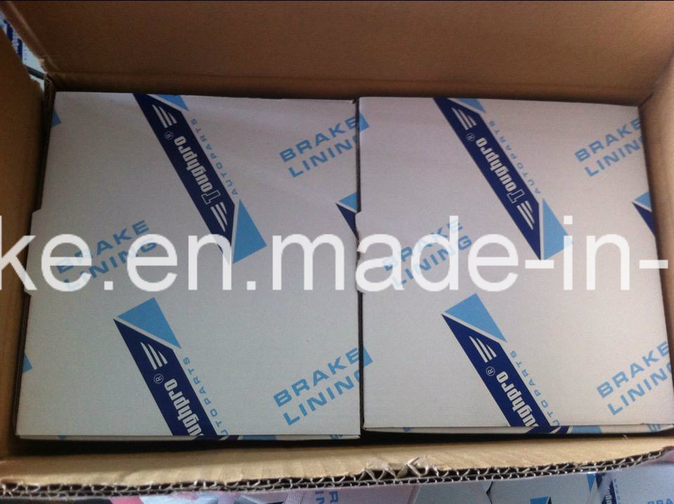 Brake Lining (WVA: 19160 BFMC: MB/51/1) for Mercedes Benz Truck and Bus