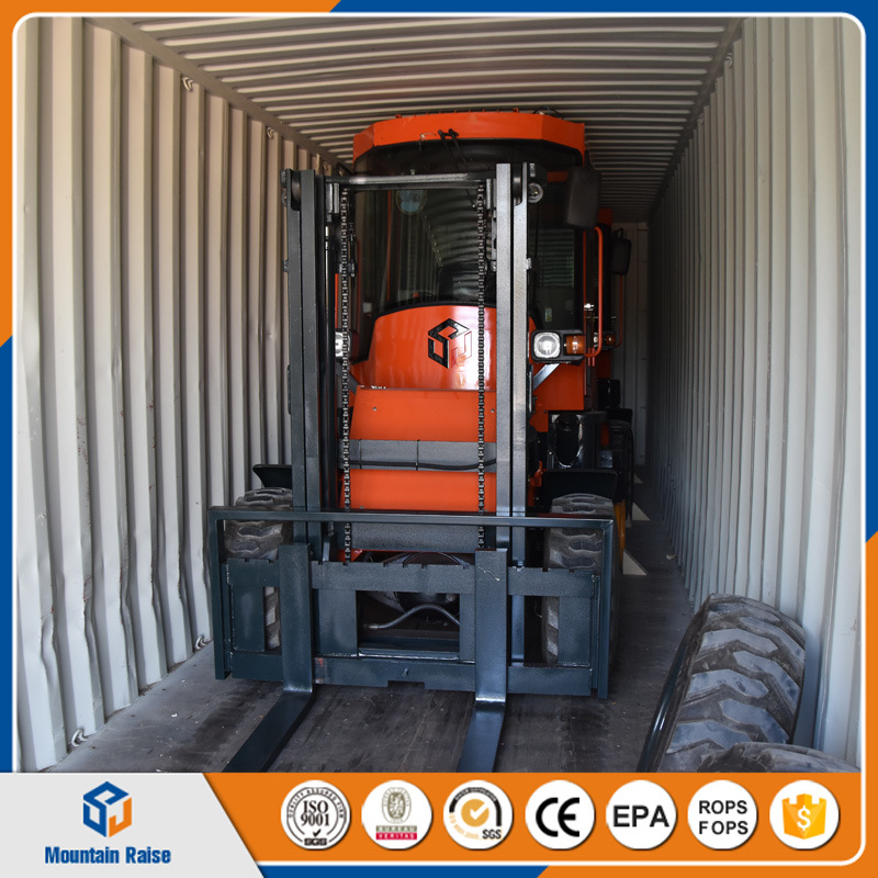 Ce Approved 3000kg 3m or 4.5m All off Road Forklift pictures & photos