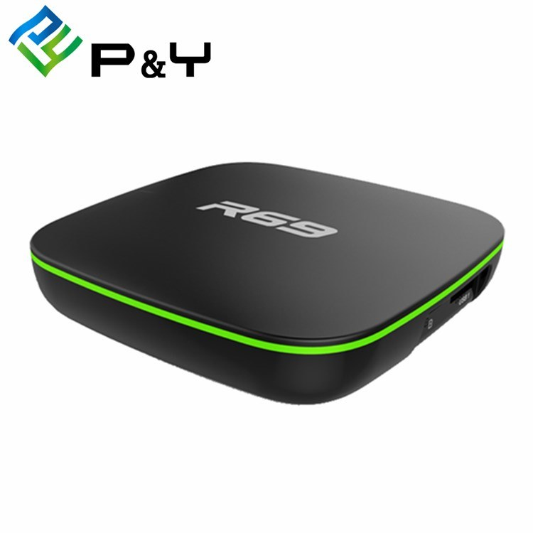 [Hot Item] Best Android Smart TV Box R69 Allwinner H3 2g 16g HD Ultra  Output Android Magic TV Box HD Amlogic 4K Firmware Android TV Box