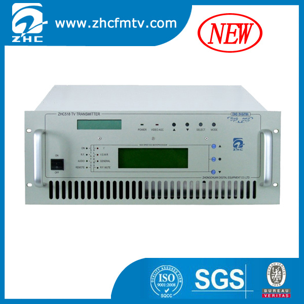 New Professional Analog 200W TV Transmitter High Reliability