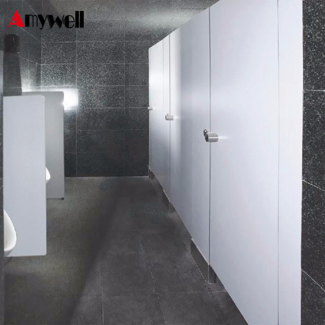 Amywell Wholesale Price 12mm Compact Laminate Board Used Bathroom Partitions
