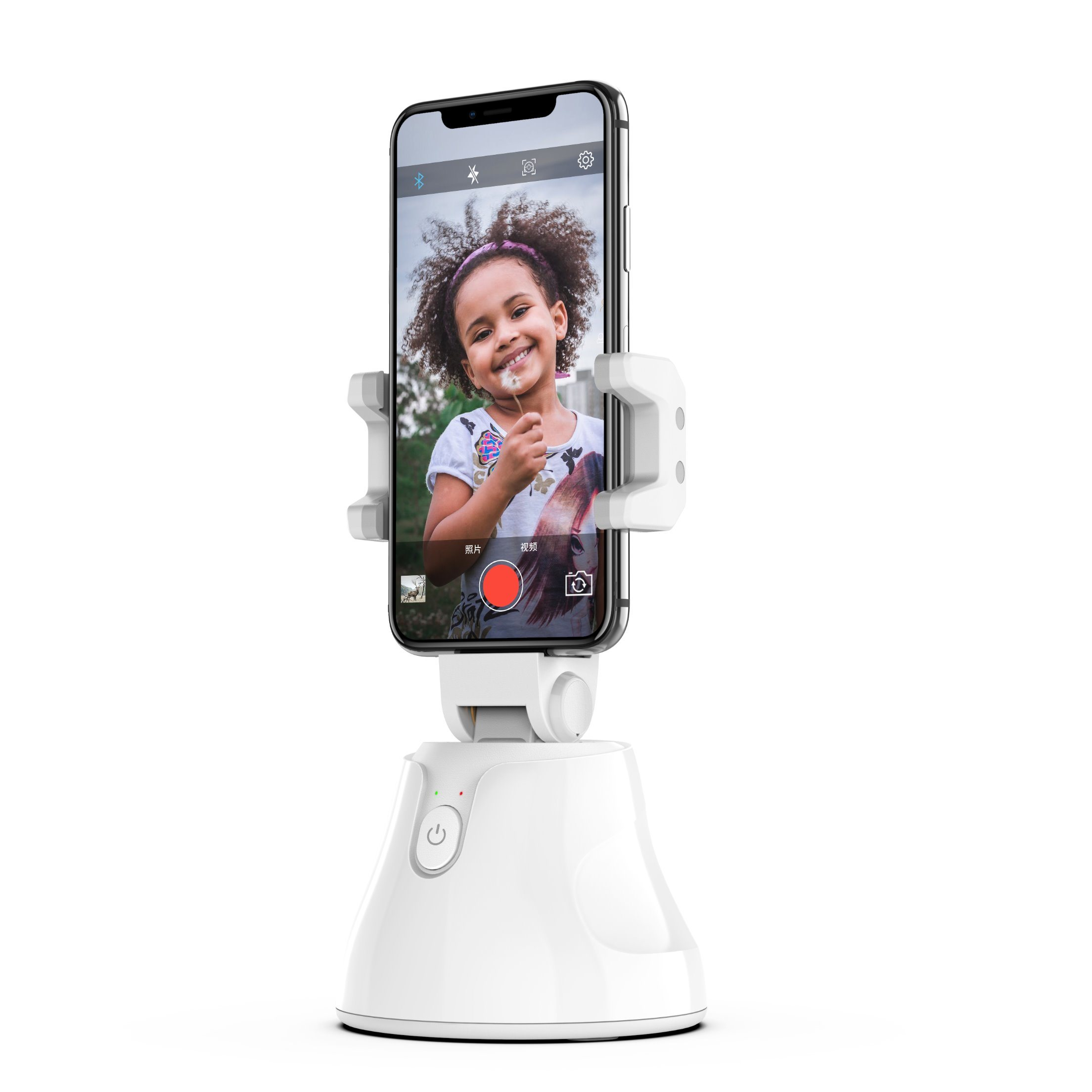 Your Face Selfie Personalized Smartphone Wireless Charging Stand Upload Your Own Image