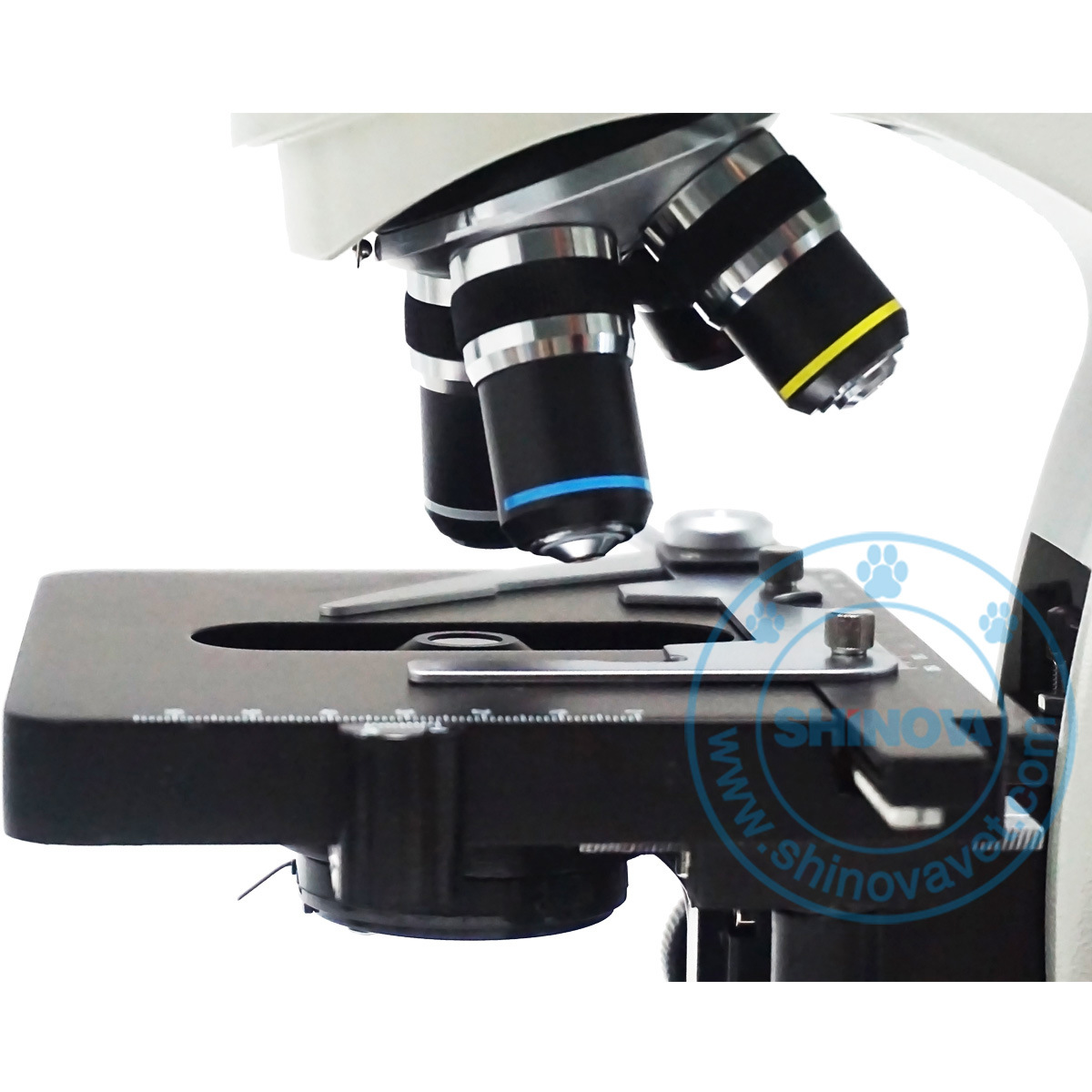 Veterinary Binocular Biological Microscope (BM-117M)