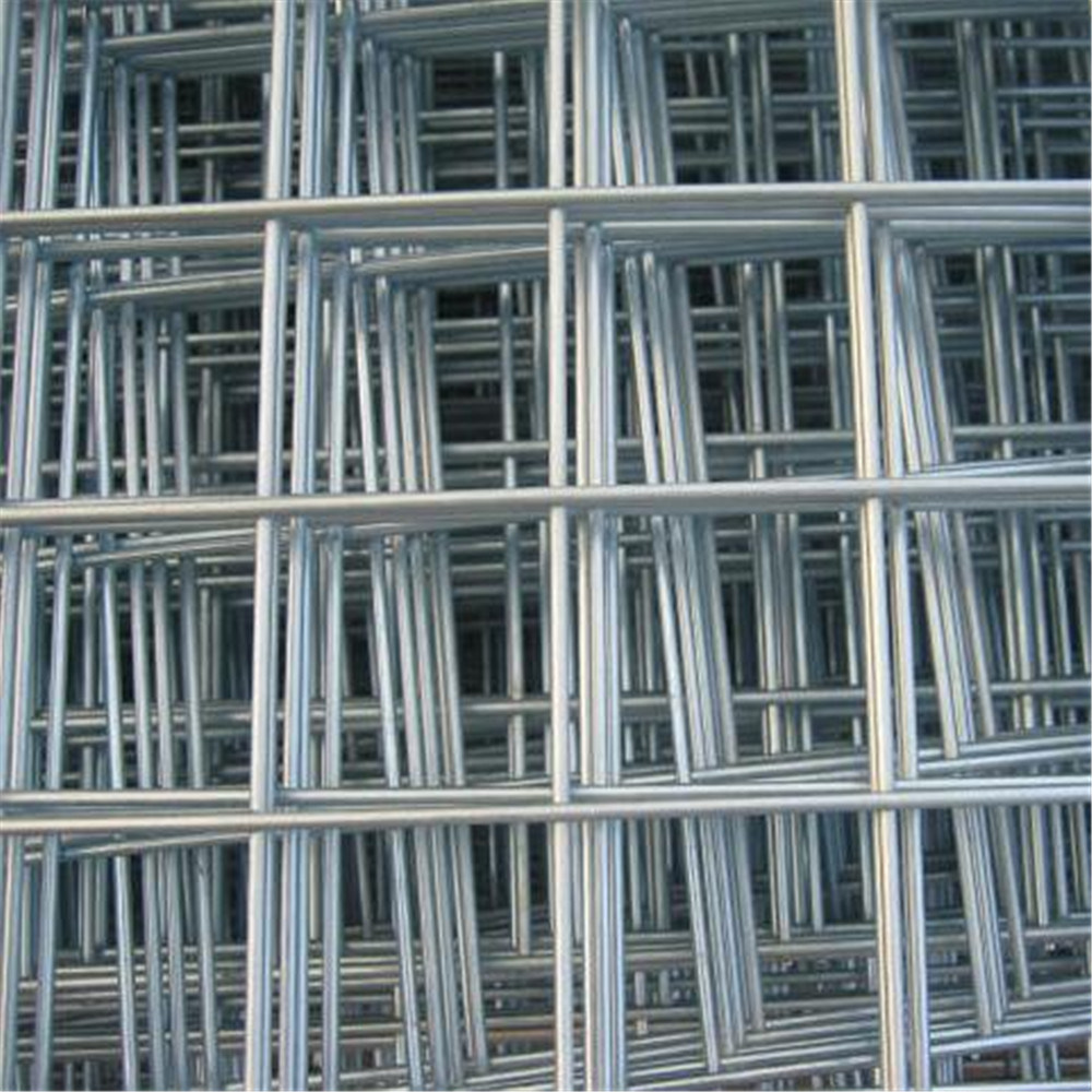 China Galvanized and PVC Coated Welded Wire Mesh Fence Panel - China ...