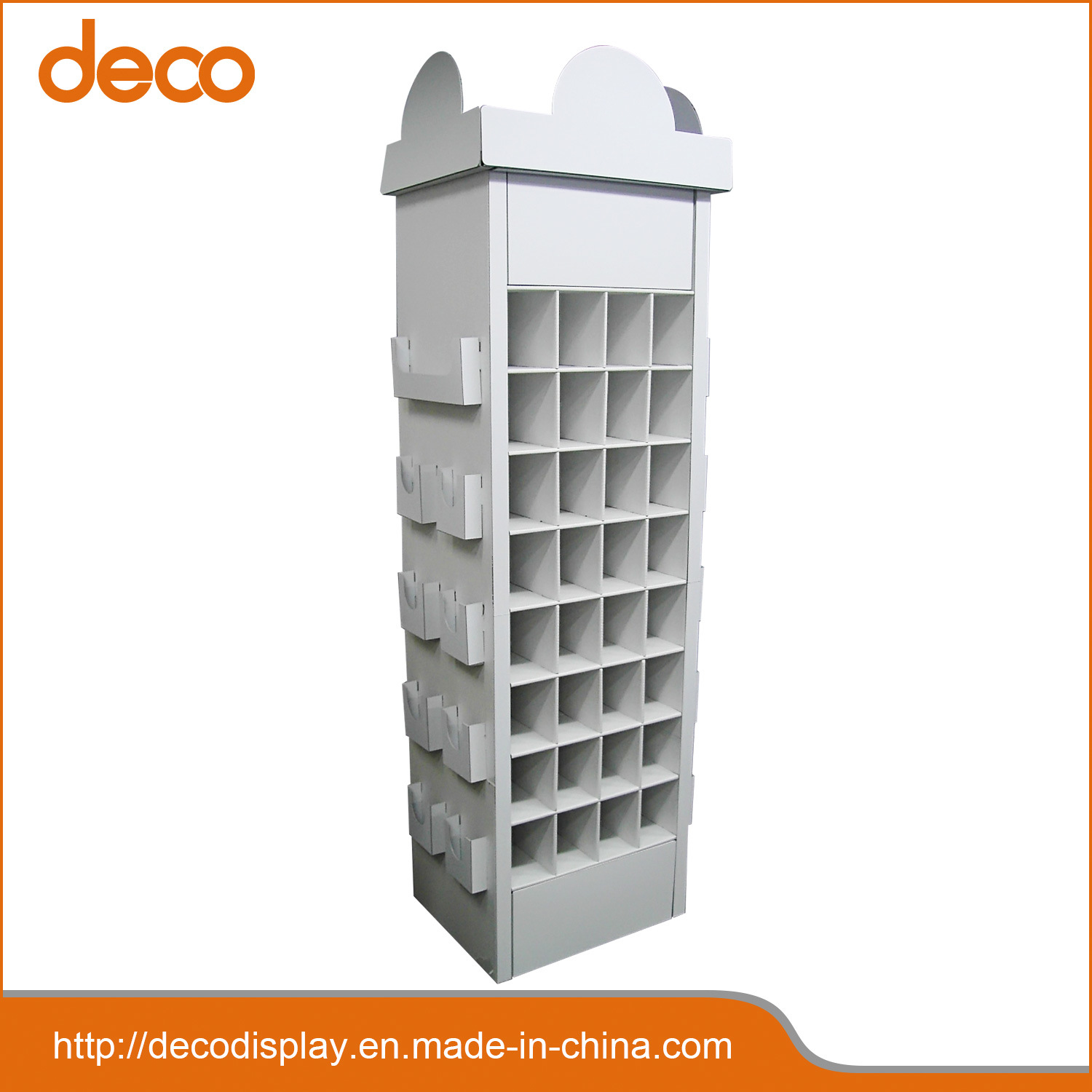 Corrugated Cardboard Paper Display Exhibition Stand pictures & photos