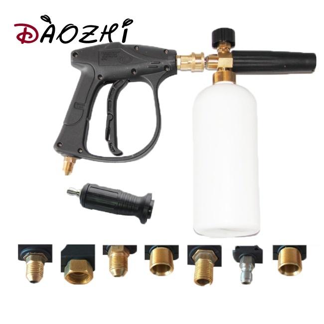 Snow Foam Lance Pressure Washer Foam Cannon For Car Wash Additional Orifi