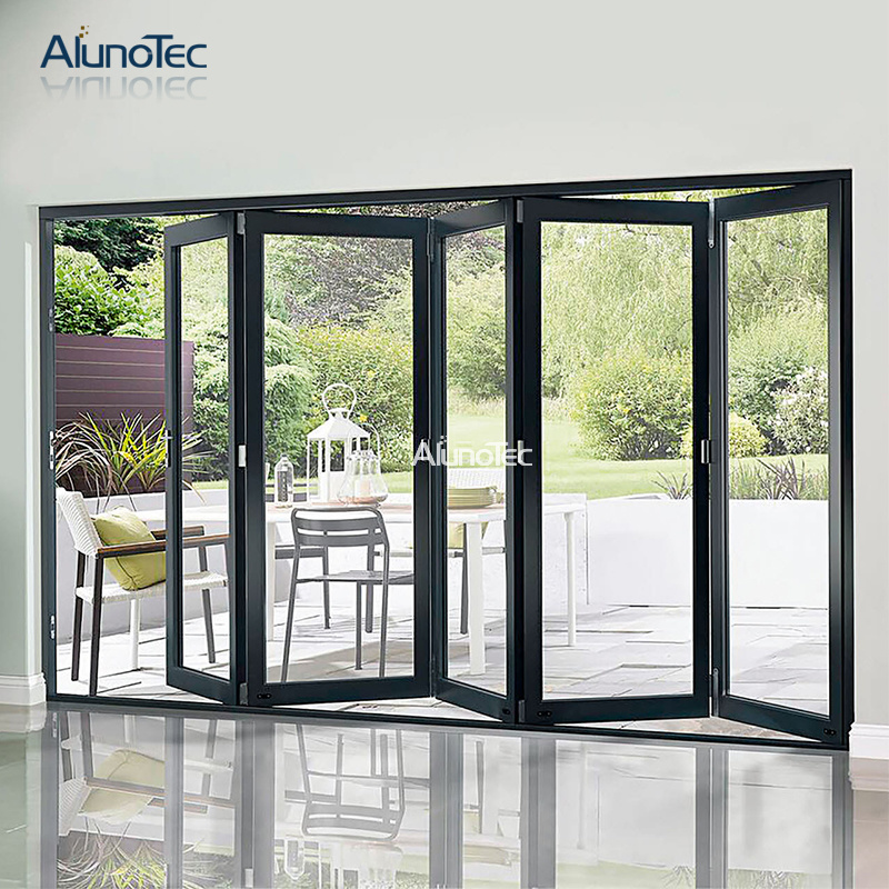 [Hot Item] New Design Soundproof Folding Sliding Door for Backyard