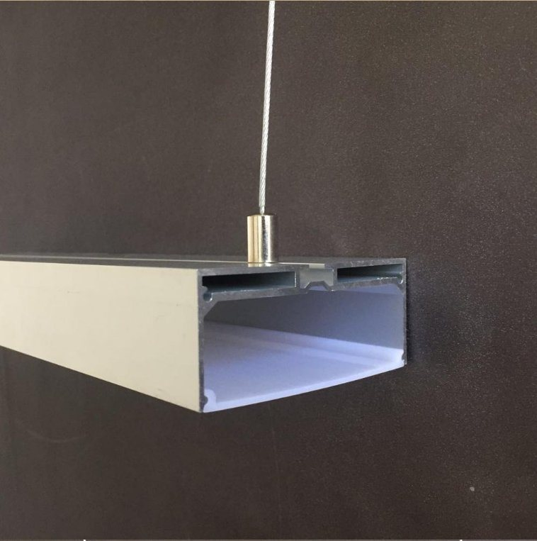Led strip ceiling mount ceiling designs china recessed led strip light casing aluminium extrusion profile mozeypictures Images