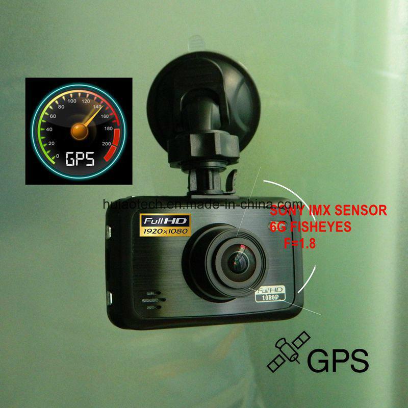 [Hot Item] OEM&ODM Private 2 7inch Car DVR GPS Tracking Dash Camera by  Google Map Playback, 5 0mega Sony Sensor Digital Video Recorder, Parking