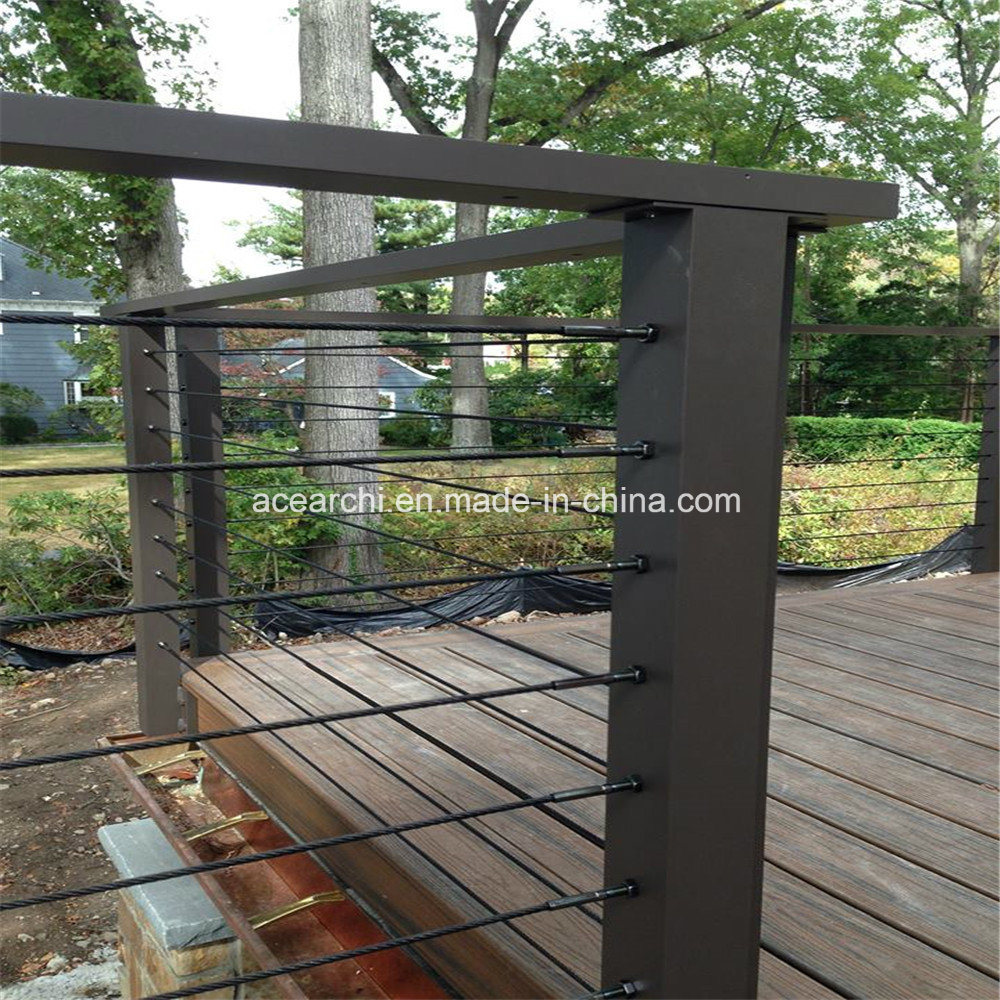 China Galvanized Steel Deck Cable Railing Tension System Wire ...