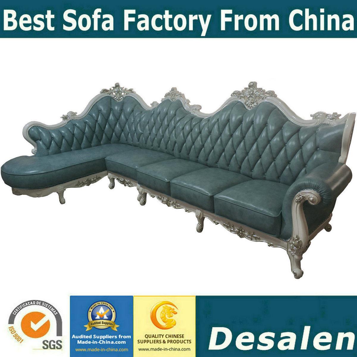 Enjoyable Hot Item Factory Price Royal Furniture Set L Shape Leather Sofa 004 Inzonedesignstudio Interior Chair Design Inzonedesignstudiocom
