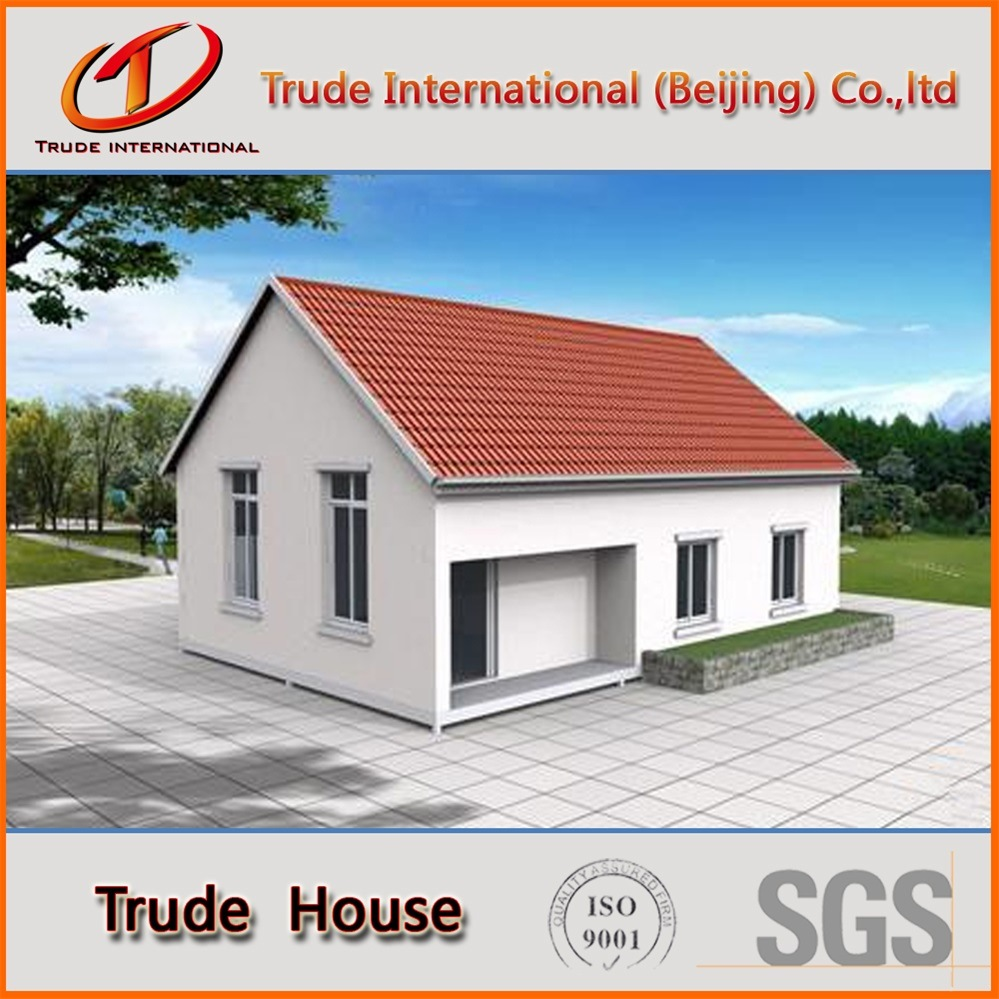 Light Gauge Steel Structure Economic Modular Building/Mobile/Prefab/Prefabricated Economic Family Living House