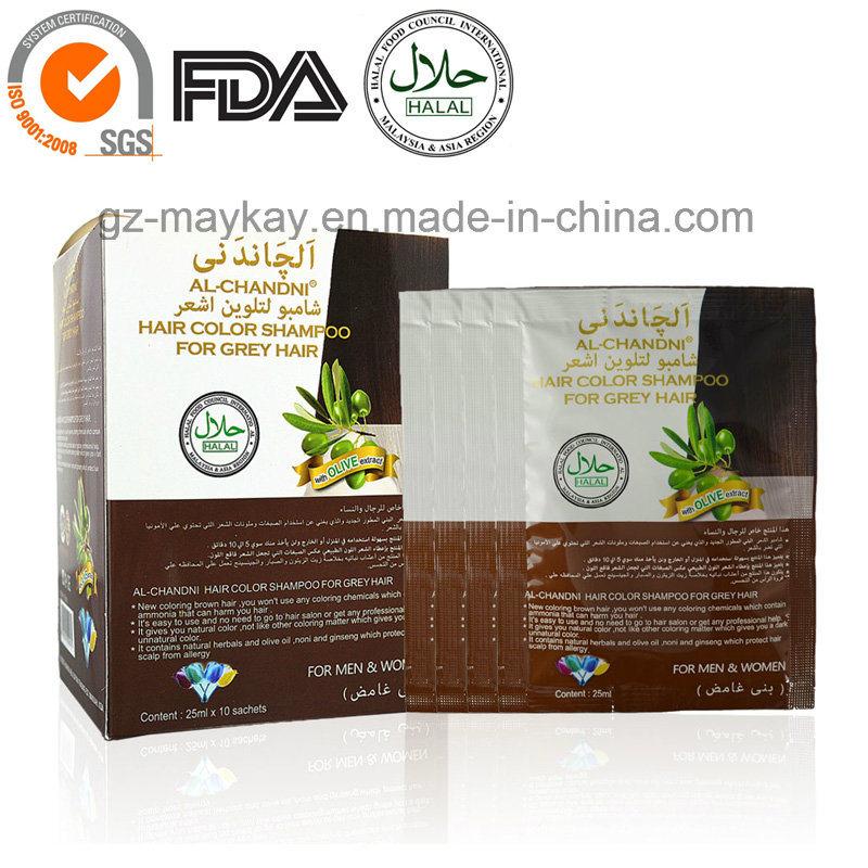 [Hot Item] Al-Chandai Hair Color Shampoo for Grey Hair (Dark Brown)
