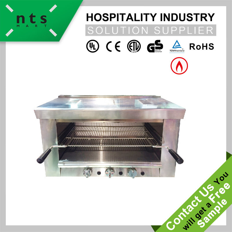 China Gas Salamander For Hotel Restaurant Kitchen Equipment China Gas Heater Gas Hot Plate