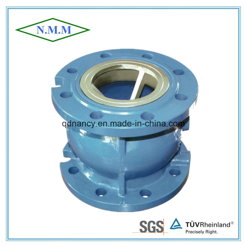 Cast Iron Flange End Silent Check Valve Pn16