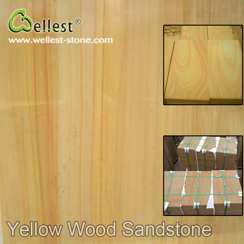 High Quality Best Price Natural Sandstone Honed Surface for Construction Materials pictures & photos