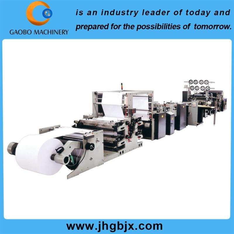 Automatic Reel to Sheet Ruling Machine for Exercise Book