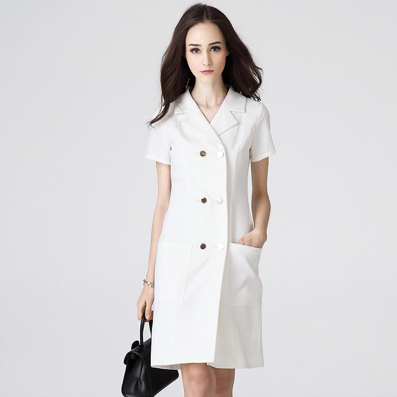defdad53702 China Elagant Office Lady Wear Formal White Dresses Photos ...