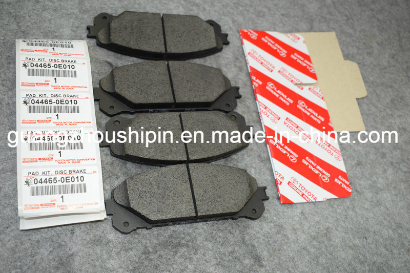 china no noise front brake pads 04465 0e010 for toyota highlander photos pictures made in. Black Bedroom Furniture Sets. Home Design Ideas