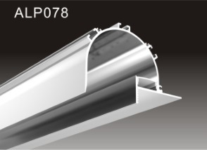 China 12 5mm Dry Wall Recessed Anodized Aluminium Led