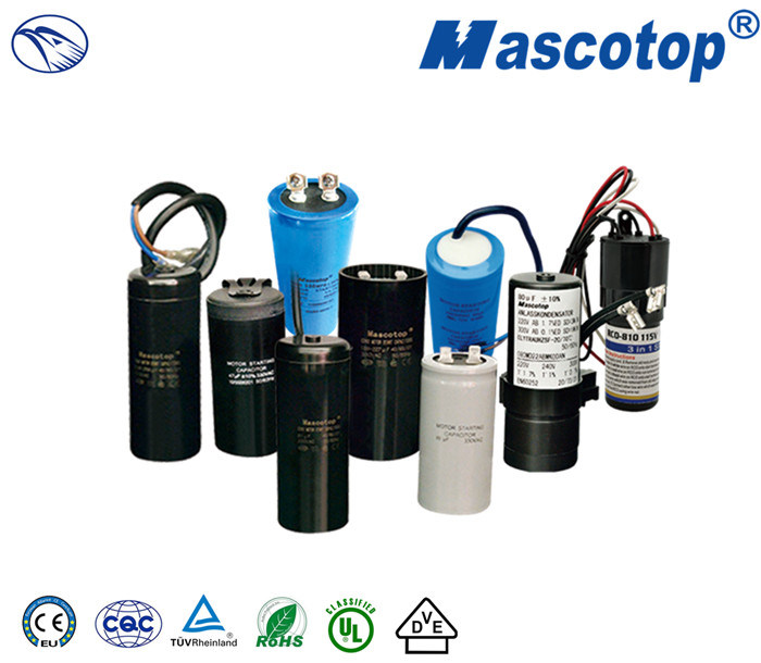 CD60 Motor Starting Capacitor Apply to Heat Pump AC Freezer 50/60Hz