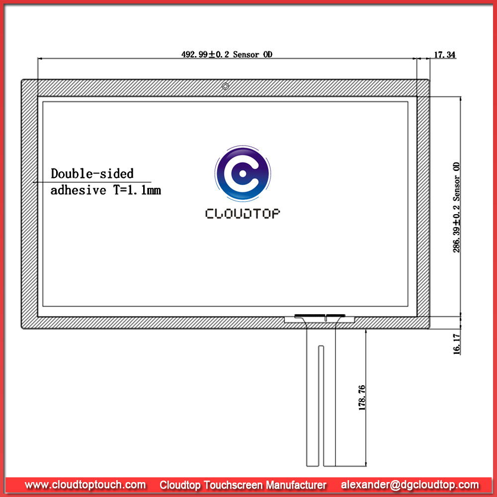 China Ilitek 2302 Ic Controller Touch Screen From Usb Interface Electrical Circuit Created Through Touchscreen Capacitance Image Projected Capacitive Manufacturer