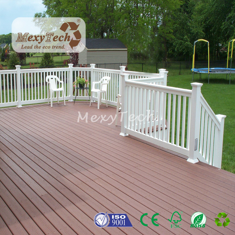New Technology Plastic Wood Plank Outdoor Wpc Deck Flooring