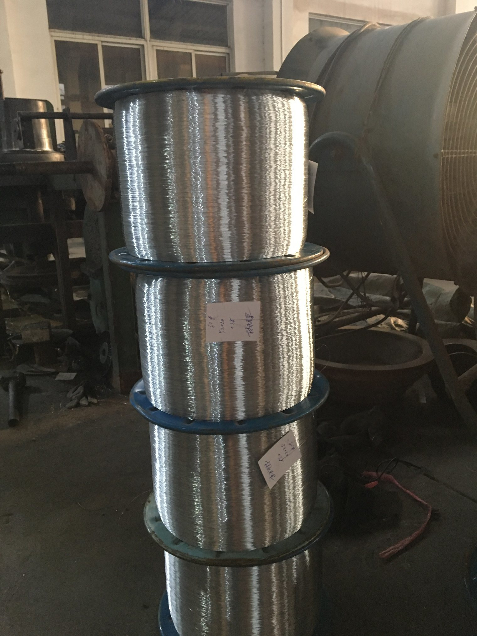 China 0.22mm Galvanized Steel Wire High Carbon Steel Wire Electro ...