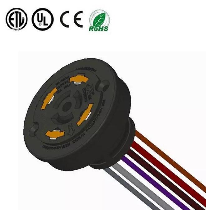 China 4 Signal Contact ANSI C136.41 Standard Dimming Receptacle ...